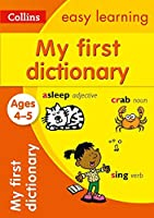 Dictionary Ages 4 to 5 (Collins Easy Learning)