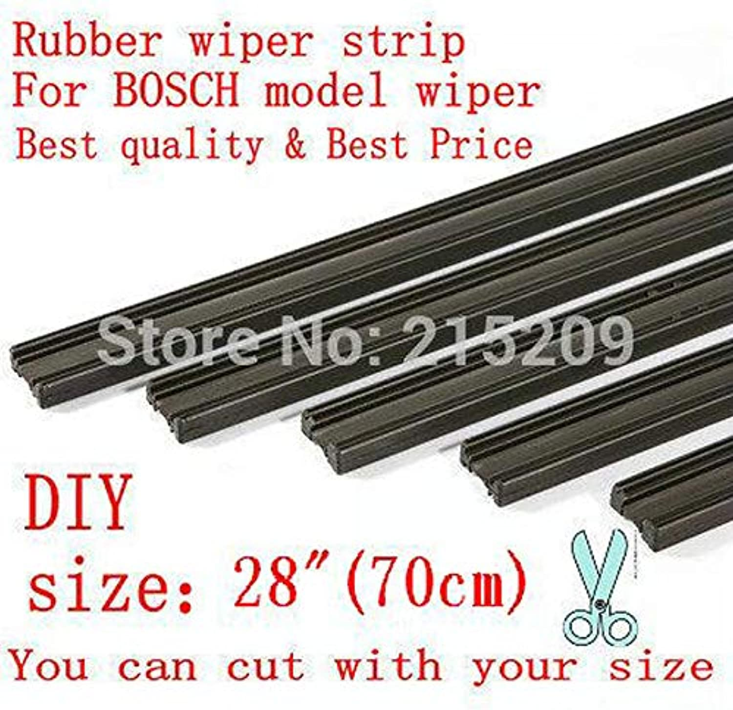 Wipers Auto Car Vehicle Insert Rubber Strip Wiper Blade (Refill) 6Mm Soft 28  700Mm 2Pcs Lot Car Accessories