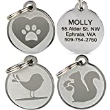 Playful, Custom Engraved Pet ID Tags