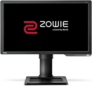 BenQ Zowie XL2411P 24 Inch 144 Hz e-Sports Gaming Monitor with 1 ms, Height Adjustable Stand, Display Port, Black Equalize...