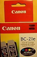 純正Canon bc-21eカラープリンタカートリッジ0899a003bjc-2000& bjc-4000forプリンタの元Holographロゴボックス
