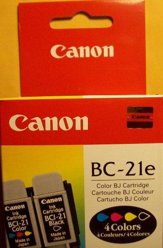 Canon Cartridge BC-21E 4-colour - Cartucho de tinta para impresoras (Inyección de tinta)