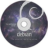 """Debian Linux 7.0 """"Wheezy"""" on DVD - Full Live / Install version."""