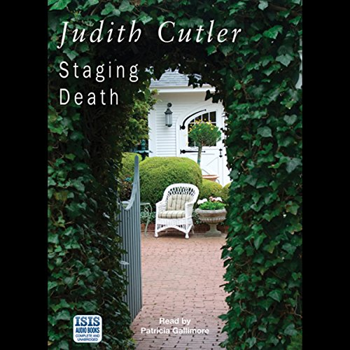 Staging Death audiobook cover art