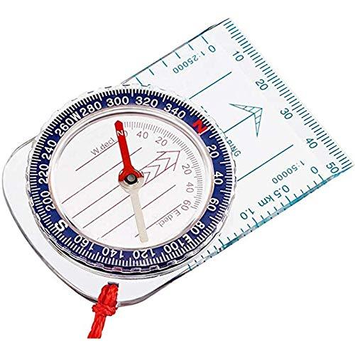 ABOAT Navigationskompass für Jungen, Scout-Kompass, Orientierungskompass, Kartenkompass für Wandern, Angeln, Camping, Navigation (2 Stück)