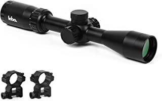 LEB Optics Side Parallax Rifle Scope with Adjustable Long Range Accuracy and Fast Focus Eyepiece, Long Eye Relief, Second Focal Plane SFP