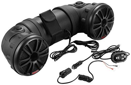 BOSS Audio Systems ATV25B All-Terrain Sound System - 2 6.5 Inch Weatherproof Speakers...
