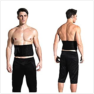 Waist Trimmer Belt - Adjustable Weight Loss Ab Sauna Belt for Women & Men,  Workout Sweat Enhancer Exercise Adjustable Wrap for Stomach-Enjoy Abdominal Muscle&Back Suppot- One Size Fits up to 50 Inches