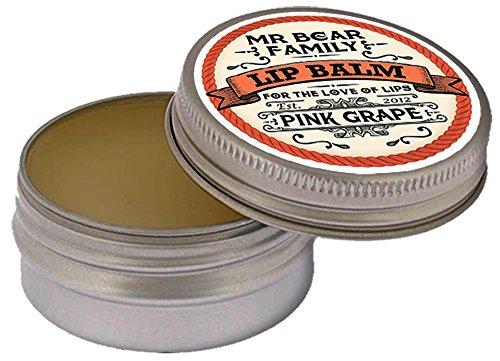 Mr Bear Family Balsamo Da Labbra , Pink Grape, 15 ml