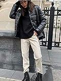 Immagine 2 minetom pantaloni ecopelle donna pantalone