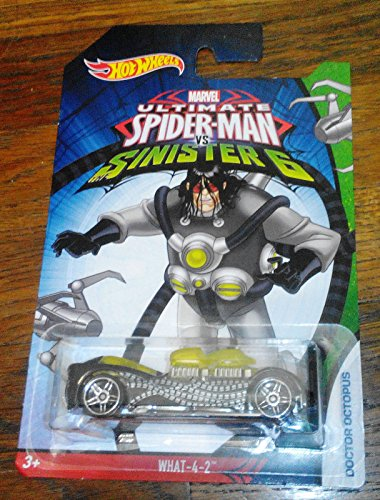 Hot Wheels SPIDER-MAN WHAT-4-2 DOCTOR OCTOPUS ULTIMATE Vs SINISTER 6 RARE NEW