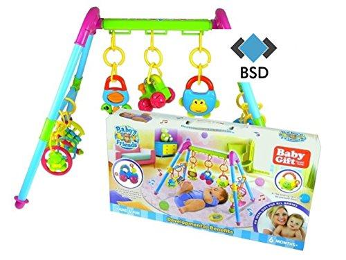 Baby Fitnesscenter - Activity Center - Lern Interaktives Spielzeug - Lernspielzeug - Fitness Spielzeug - Babytrainer - Babygym - Spieltrainer - Motorikspielzeug