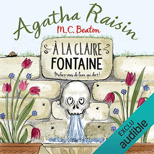 À la claire fontaine audiobook cover art