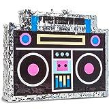 Retro Boom Box Piñata for 80's Birthday Party (16.5 x 12.8 Inches)