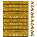 100 Capsulas de Aluminio Compatibles Nespresso - (10 Estuches X 10 ) Café 100% Arabica - Venezia