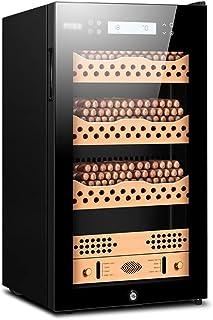 Humidors Konstant temperatur cigarr skåp kontor stor kapacitet cigarr tyst cigarr skåp oberoende konstant fuktsystem (fär...