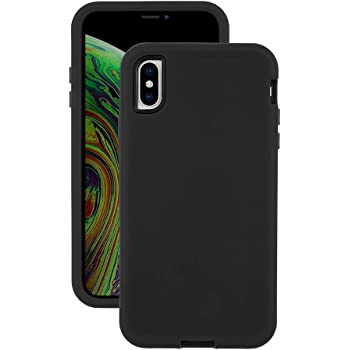 EMERGE ULTRA FORCE iPhone XS Max Protective Cell Phone Case with Holster and 10 Foot Drop Protection - Black