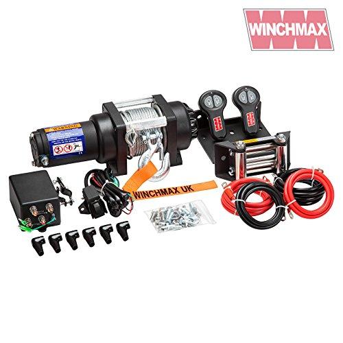 baratos y buenos Winchmax 24V cabrestante eléctrico militar, marino, remolque de barco, control … calidad