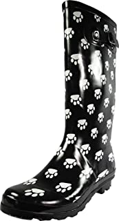 Women's Hurricane Wellie - 14 Solids and Prints - Glossy & Matte Waterproof Hi-Calf Rainboots