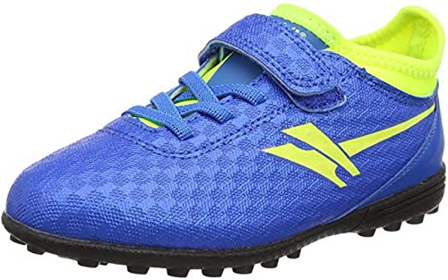 Gola Activo5 Astroturf - Zapatillas de fútbol para niño, color Azul, talla 24 EU