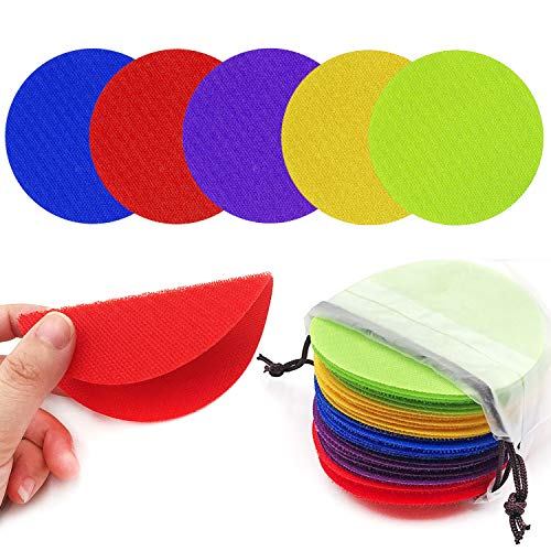 Review Of Unixing 30PCS Carpet Spot Markers Educate Carpet Circle Spots Markers Floor Sit Spots Circ...