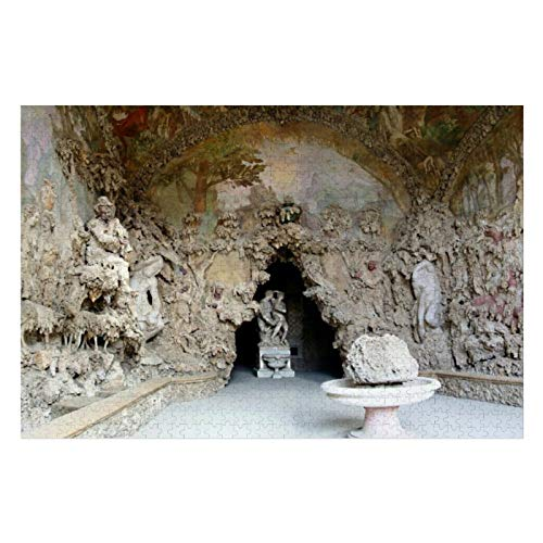 Boboli La Grotta Grande Puzzles for Adults, 1000 Piece Kids Jigsaw Puzzles Game Toys Gift for Children Boys and Girls, 20