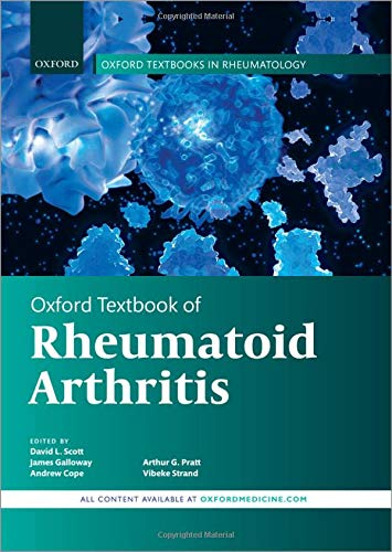 Compare Textbook Prices for Oxford Textbook of Rheumatoid Arthritis Oxford Textbook of Rheumatology 1 Edition ISBN 9780198831433 by Scott, David L.,Galloway, James,Cope, Andrew,Pratt, Arthur,Strand, Vibeke