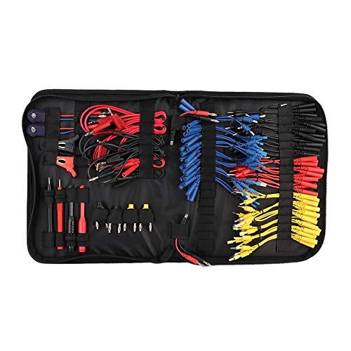 Kit de cables de prueba Yctze, cable de prueba multifunción para el diagnóstico de cables, accesorios de cableado
