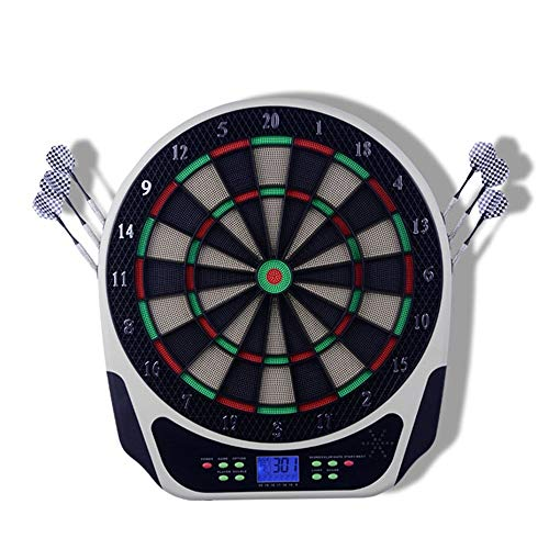 Giocattolo educativo Dartboard elettronico Ultra Thin Spider per area di punteggio aumentata Free Floating Segments Locking Segment Holes For Founer Bounceouts Punteggio automatico Regalo di compleann
