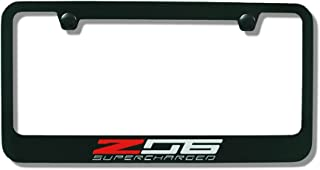 z06 license plate frame