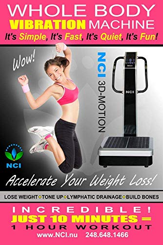 NCI Whole Body Vibration Machine - 3D-Motion Commercial (2HP, 440...
