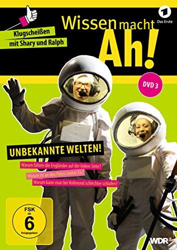 DVD 3: Unbekannte Welten!