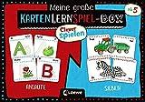 Clever Spielen - Meine große KartenLernSpiel-Box - Anlaute/Silben: Kartenspiele zum Lesen Lernen ab 5 Jahre