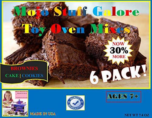Mojo Stuff Galore Easy Bake Oven Refill   Mixes Brownies 6 Pack
