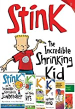 Stink Moody 7 Books- The World's Worst Super-stinky Sneakers, Solar System Superhero, the Incredible Shrinking Kid, Midnig...