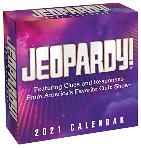 Jeopardy! 2021 Calendar