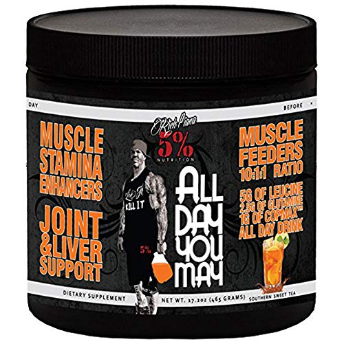 5% Nutrition All Day You May Southern Sweet Tea, 465 g