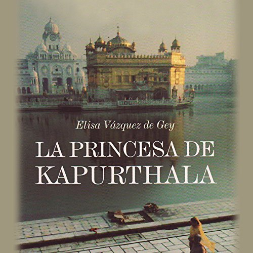 La Princesa de Kapurthala audiobook cover art