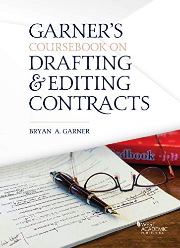 Compare Textbook Prices for Coursebook on Drafting and Editing Contracts 1 Edition ISBN 9781684670284 by Garner, Bryan