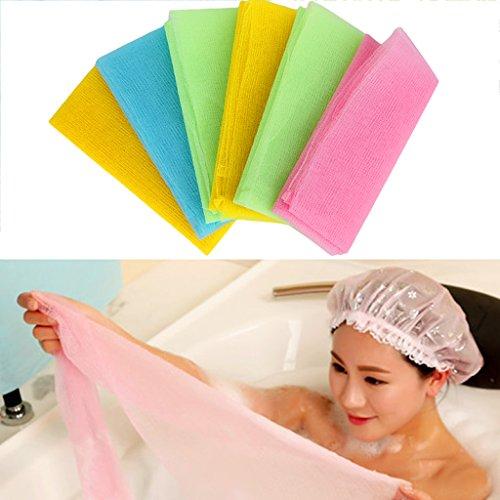Fogun baño exfoliante cálida ducha cuerpo , frotter–lavado