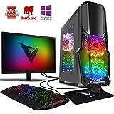Vibox Pyro GS450-92 Gaming PC Ordenador de sobremesa con 2 Juegos Gratis, Win 10 Pro, 22' HD...