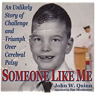 Someone Like Me audiobook cover art