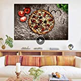 Danjiao Frühstück Tomatolove Pizza Küche Poster Und