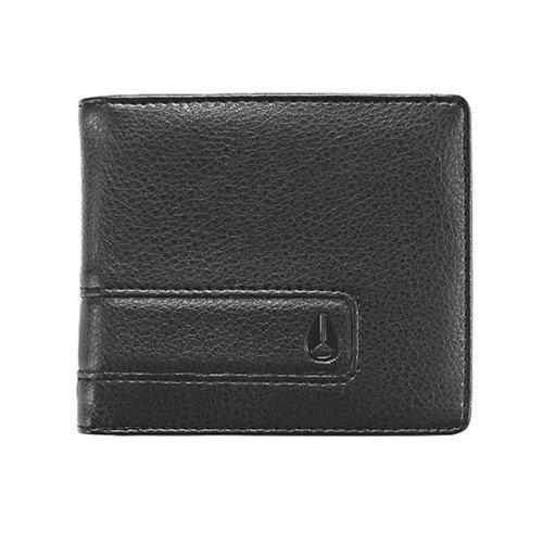 Nixon Münzbörse Showoff Portemonnaie Schwarz (All Black) 3007000116738