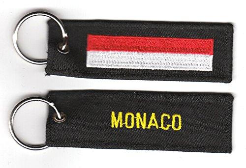Schlüsselanhänger Monaco Anhänger Fahne Flagge FLAGGENMAE®