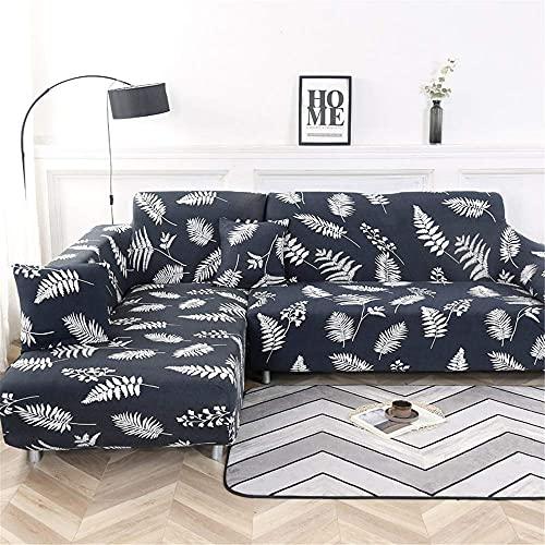 TCWDX L-förmiges Wohnzimmer Voll Dehnbare rutschfeste Sofabezug Polyester-Sofabezug L-Typ Universal-Sofabezug, L-Typ Kaufbedarf 2