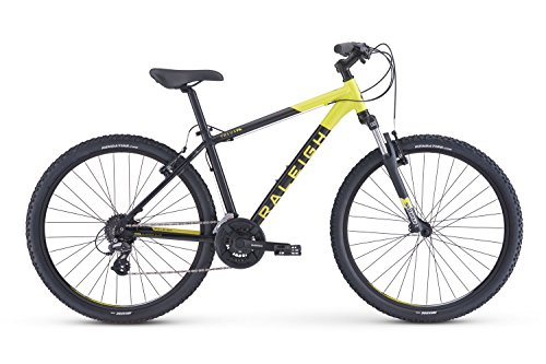 Raleigh Bikes Talus 2 Recreational Mountain Bike, Black, 17'/Medium