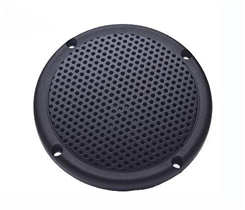 PQN Enterprises Spa35-4GF Spa Marine Waterproof RV Dual Cone Speaker, Graphite, 3.5'