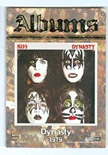 Dynasty Album trading card Kiss 360 2009 Press Pass #81 Gene Simmons Ace Frehley Paul Stanley Peter Criss 1979