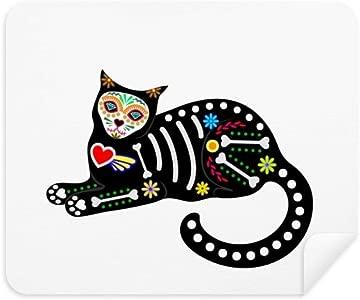 DIYthinker Sit Black Cat Bone Heart Halloween Terror Atmosphere Phone ...